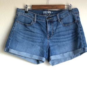 Old Navy Semi-Fitted Rolled Jean Shorts Size 10